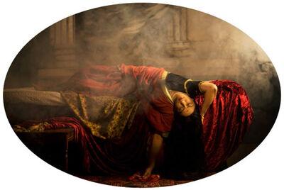 Pushpamala N., 'Apaharana/Abduction - Nightmare/Odalisque ', 2012