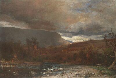 Jervis McEntee, 'Catskill Twilight', 1880