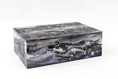 Nancy Lorenz, 'Untitled Silver and Moon Gold Box', 2016