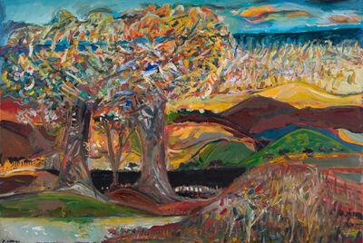 Yehouda Chaki, 'The Lake & the Ocean 1858', 2019