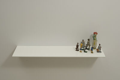 Liliana Porter, 'To go there', 2011