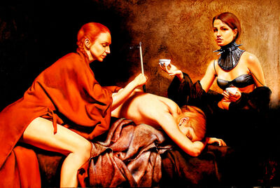 Saturno Butto, 'Body Painting'