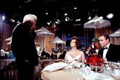 Douglas Kirkland, 'Charlie Chaplin, Sophia Loren, and Marlon Brando ', 1972