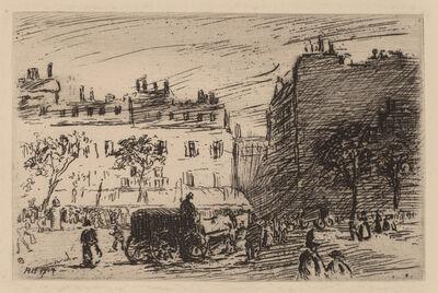 Robert Henri, 'Paris Street Scene', 1904