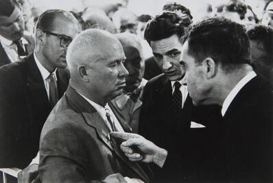 Elliott Erwitt, 'Nikita Khrushchev & Richard Nixon, Moscow, USSR', 1959