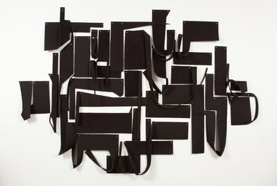 Margie Livingston, 'BIG BLACK GROMMET DRAWING', 2015