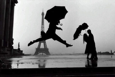 Elliott Erwitt, 'France. Paris (Umbrella Jump)', 1989