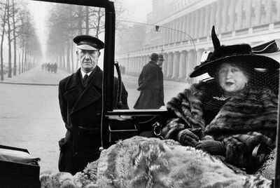 Inge Morath, ' ENGLAND, London. Mrs. Eveleigh Nash. 1953.', 1953