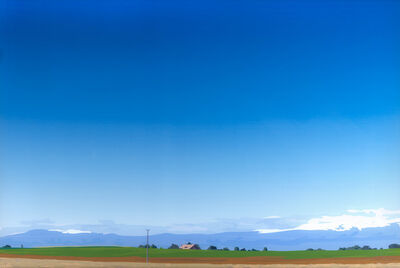Julian Opie, 'Cowbell Tractor Silence', 2000