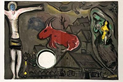 Marc Chagall, 'Marc Chagall lithograph Derrière le miroir 1950 ', 1950