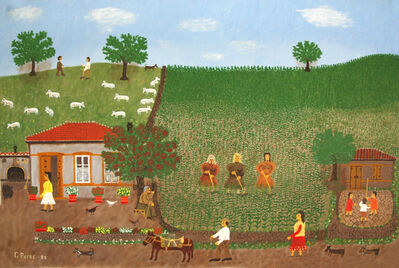 Giorgos Rigas, 'Turning the Soil', 1985