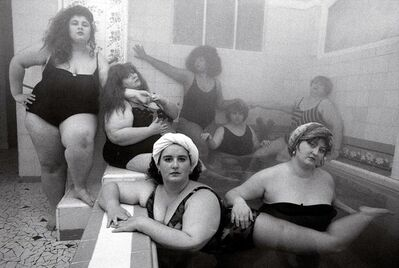William Klein, 'Club Aleggro Fortissimo au Hammam de Paris', 1990