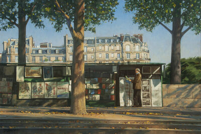 Bradley Stevens, 'Les Bouquinistes'