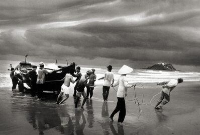 Sebastião Salgado, 'Vietnam, Boat People Pulling Boat Ashore', 1995