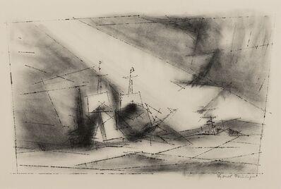 Lyonel Feininger, 'Lyonel Feininger (1871-1956)', 1951
