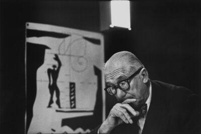 René Burri, 'Le Corbusier, Rue de Sèvres, Paris'