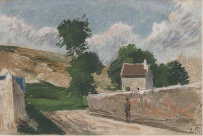 Camille Pissarro, 'Une Rue à l'Hermitage, Pontoise', Executed circa 1873-74