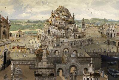Jean-François Rauzier, 'Babel XIV - d'après Grimmer', 2016