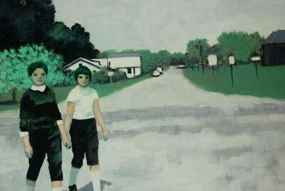 Ayse Wilson, 'Sisters Walk to Town', 2013