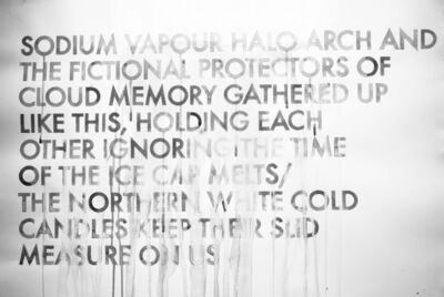 Robert Montgomery, 'Sodium Vapour Halo Arch ', 2016