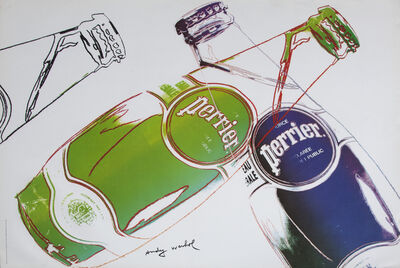 Andy Warhol, 'Perrier', 2013