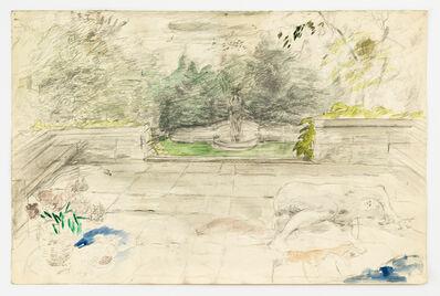 Marion Wagschal, 'Rose Garden at Yaddo', 1979