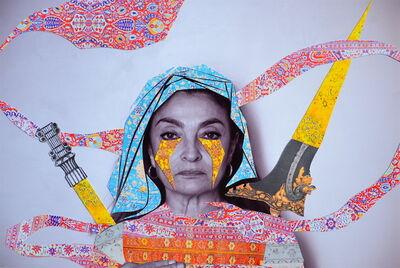 Sassan Behnam-Bakhtiar, 'Ghoncheh', 2016
