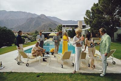 Slim Aarons, 'Desert House Party', 1970