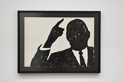 Sergio Lombardo, 'Untitled, Charles De Gaulle', 1962