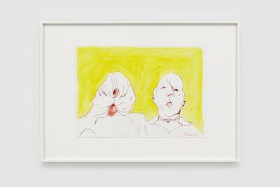 Maria Lassnig, 'Double Self', 2000