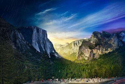 Stephen Wilkes, 'Tunnel View, Yosemite National Park, Day to Night', 2014