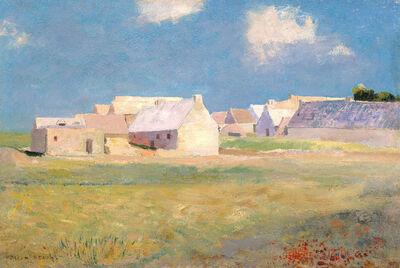 Odilon Redon, 'Breton Village', ca. 1890