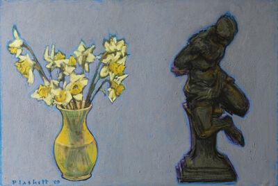 Joseph Plaskett, 'Daffodils and Sculpture', 2005