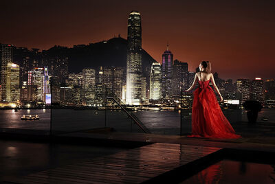 David Drebin, 'Girl in Hong Kong', 2010
