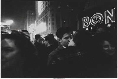 Charles Harbutt, 'The Good Kiss and New Year's Eve', 1960