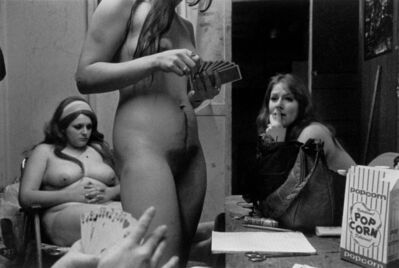Susan Meiselas, 'The Dressing Room, Fryebrug, ME', 1975