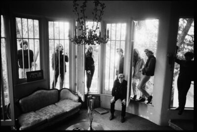 Steve Schapiro, ' Andy Warhol and the Velvet Underground, Hollywood Hills, Los Angeles, 1966', 1966