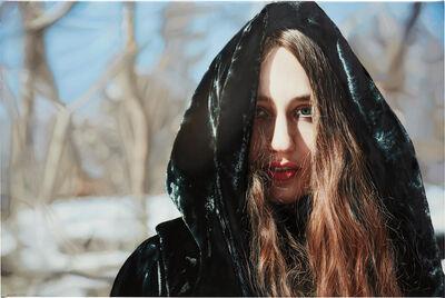 Yigal Ozeri, 'Lizzie in Snow', 2013