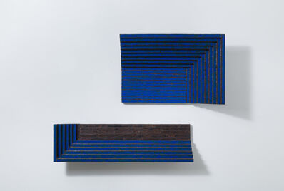 Kwangho Lee (b. 1981), 'Composition in Blue', 2020