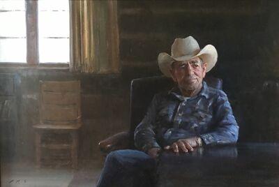 Tony Pro, 'A True Cowboy -From Maynard Dixon County', 2017