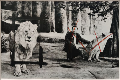 Linda Fregni Nagler, 'Little History of Subjugation. Animals: Lion', 2020