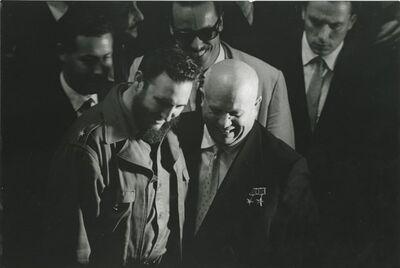 Sergio Larrain, 'Fidel Castro and Nikita Khrushchev at the United Nations', 1960