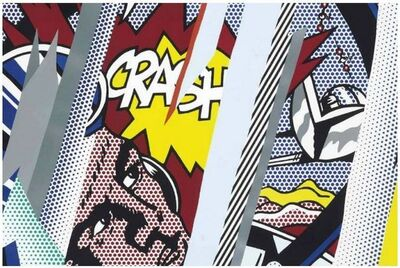 Roy Lichtenstein, 'Reflections on Crash', 1990