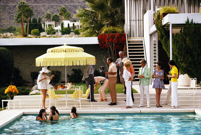 Slim Aarons, 'Poolside Party', 1970