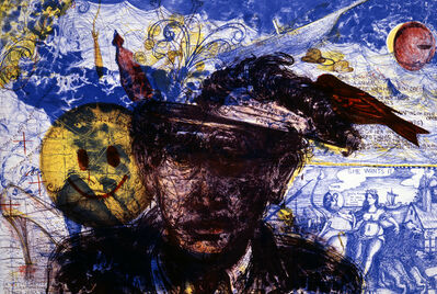 Terry Allen, 'Heads Lips Across the Near Frontier', 1991