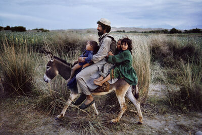 Steve McCurry, 'Family Rides Donkey, Afghanistan', 2003