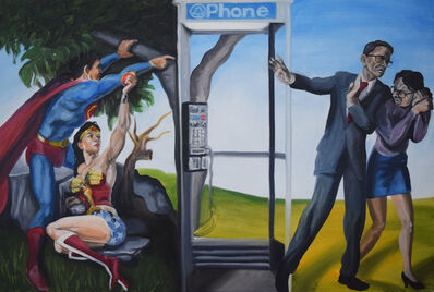 Issa Ibrahim, 'The Fall of Superman', 2015
