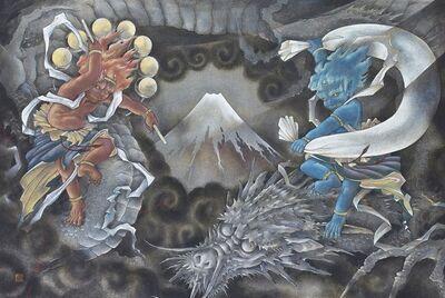 Ken Shiozaki, ' Fugaku Toryu-zu', 2019