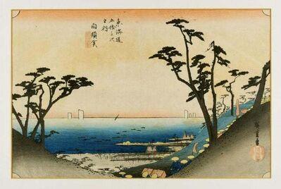 Utagawa Hiroshige (Andō Hiroshige), ' Shirasuka, 32nd Station', 1834