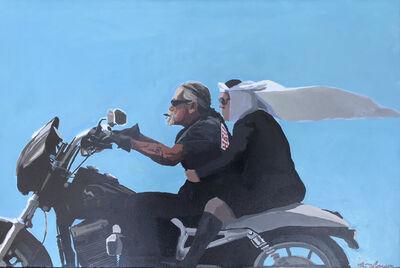 Keith Thomson, 'Biker and Sister', 2018